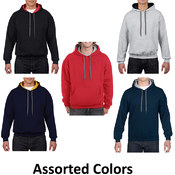 Irregular Gildan Hoodies Style # 185C00 Assorted -
