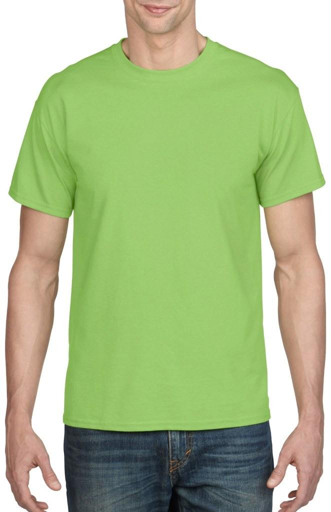 e80eb89798 Irregular Gildan T-Shirts Style 8000 Lime - Size Medium