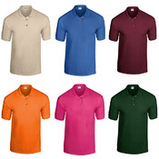 Gildan Irregular Polo Shirts - Assorted - XL