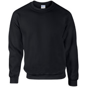 Gildan Irregular Mill Graded Crewneck Sweat Shirt - Black - XL
