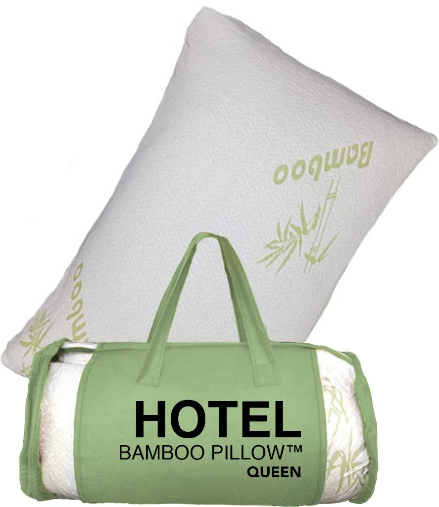 wholesale hotel bamboo memory foam pillow sku 1868910 dollardays. Black Bedroom Furniture Sets. Home Design Ideas