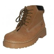 Men's Suede Insulated Work Boots - Tan