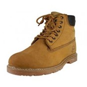 Men's Leather Insulated Work Boots - Tan
