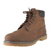 Men's Leather Insulated Work Boots - Brown