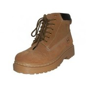 Men's Suede Insulated Boots - Tan
