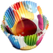 Balloons Baking Cups - 50 Count
