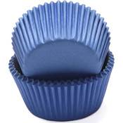 Light Blue Baking Cups - 50 Count