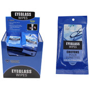 Eyeglass Wet Wipes 20 count
