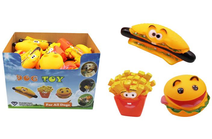Wholesale Food Squeaky Dog Toy Sku 1980805 Dollardays