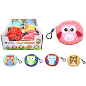 Plush Owl Coin Purse