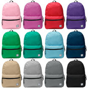 "Forward™ 17"" School Backpack - 12 Solid Colors"