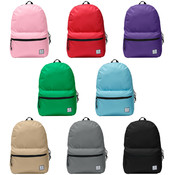 "Forward™ 19"" School Backpack - 8 Solid Colors"