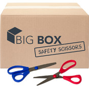 "Big Box™ 5"" Safety Scissors - 100/case"