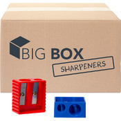 Big Box™ Dual-Hole Pencil Sharpeners - 100/case