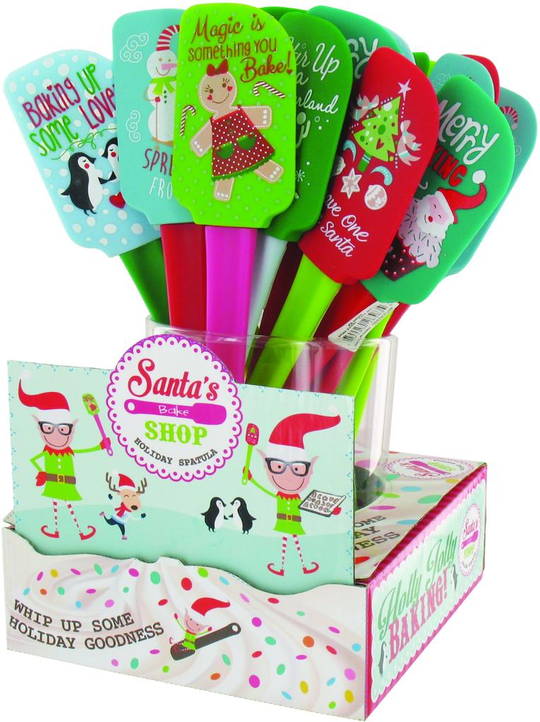 Wholesale Christmas Santa S Shop Spatula Sku 1917081