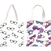 UV Color Changing Tote Bag - Sunglasses