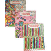 Wholesale Adult Coloring Book In Three Themes
