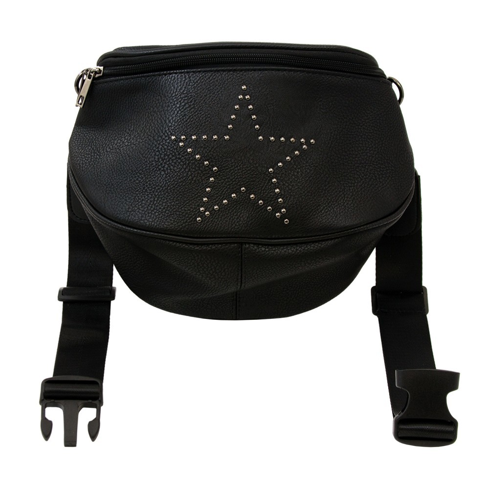 03b2756149cc Wholesale Oversize Fanny Pack in Black with Star (SKU 2327261 ...