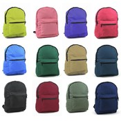 "Marc Gold 15.5"" Backpack - 12 Assorted Colors"