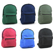 Marc Gold 15.5'' Backpack in 6 Assorted Colors