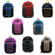 "17"" Unisex Bungee Backpack"