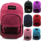 19 Padded Backpack with Front Pocket