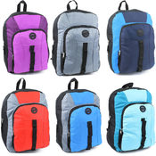 Multi Color 16 Inch 1800 Series Backpack- 6 Colors