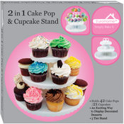 2-in-1 Cake Pop & Cupcake Stand