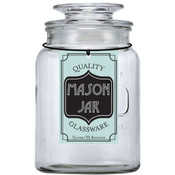 Glass Mason Jar Containers  1L/33.8oz