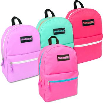 Wholesale 17 Quot Classic Backpack Girls Sku 971143 Dollardays