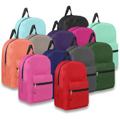 "15"" Promo Backpack - in 12 Colors"