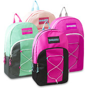 Trailmaker 17 Inch Bungee Backpack - Girls