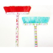 Broom Assortment - Florals & Stripes Designs