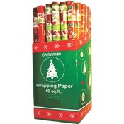 "Christmas Gift Wrap rolls - 30"" x 40 sq.ft/roll"