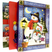 """Xmas Gift Boxes - 3 pack - 14.25"""" x 9"""" x 2"""""""