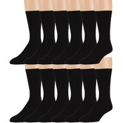 Men's Black Dress Socks Size 10-13