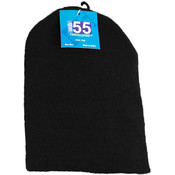 Black Knit Winter Hat