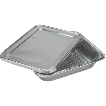 Half Size Deep Aluminum Pan with Lid - 2-Packs - Nicole Home Collection  sc 1 st  DollarDays & Wholesale Foil Cookware - Wholesale Foil Bakeware - Foil Pans ...