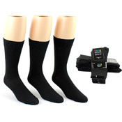 Men's Dress Socks - Black Size 10-13