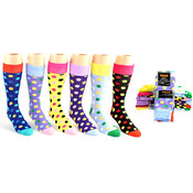 Men's Casual Dress Socks - Dot Prints