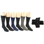 Men's Pattern Dress Socks - Size 10-13