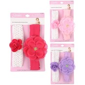 Infant 2 -Pack Flower Headbands