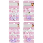 Infant 3-Pack Assorted Head Wraps