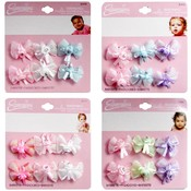 Infant 6-Pack Iridescent Bows