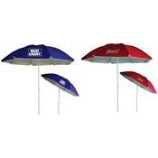 "Budweiser/Bud Light 72"" Beach Umbrellas - Assorted Brand Styles"