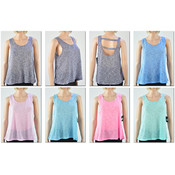 Women's Open Back Swing Tank Tops