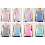 Women's Slub Scoop Neck Tank Tops