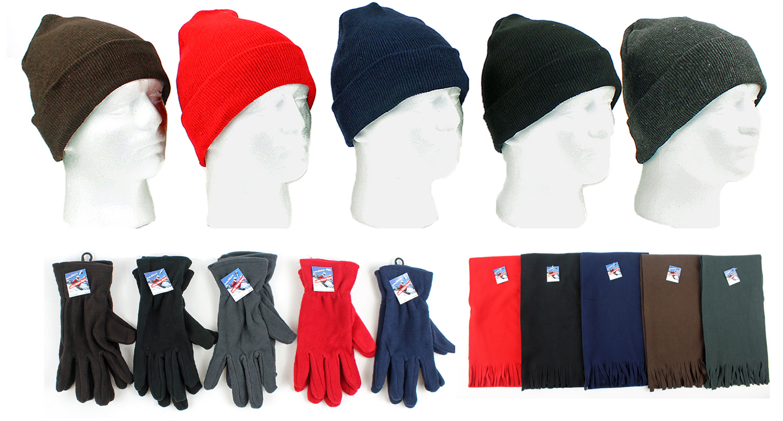 Wholesale Winter Fleece Promo Set (SKU 671054) DollarDays