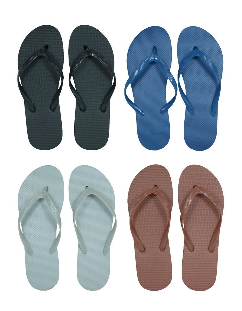 Wholesale Men S Flip Flops Solid Colors Sku 692833