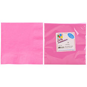 2 Ply Luncheon Napkin, Hot Pink, 20-Packs